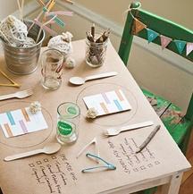 Thanksgiving Kids' Table