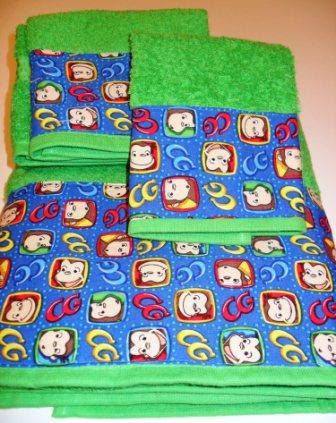 Curious George Towel Set   20 00  via Etsy. 125 best Curious George Stuff images on Pinterest   Curious george