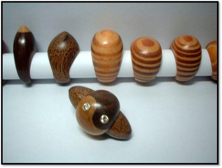 wood rings  by kingwoodbrazil