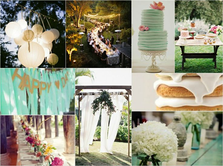 Blog My happy kids - Moodboard for my bday party