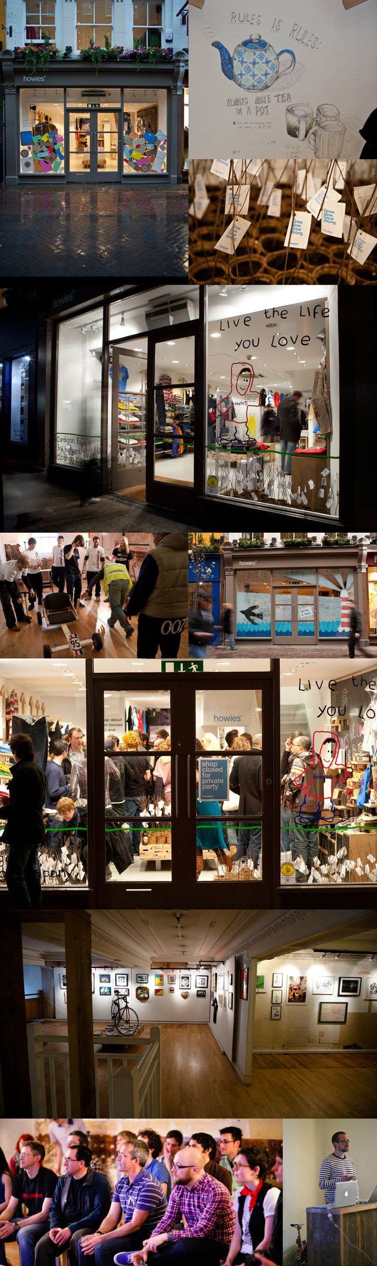 The little shop at 42 Carnaby Street. Photo by Nick Hand. Posted December 30, 2011 on his blog.