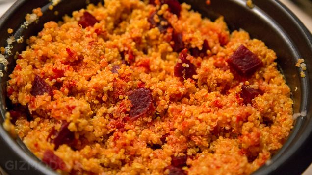 Three Fast, Easy, High-Protein Meals On the Go - the quinoa and beets one sounds awesome!
