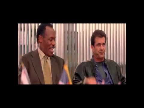 Lethal Weapon 4 - Riggs and Murtaugh are Promoted to Captains - YouTube