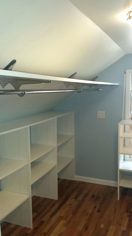 Best 25+ Slanted ceiling closet ideas on Pinterest   Rooms ...