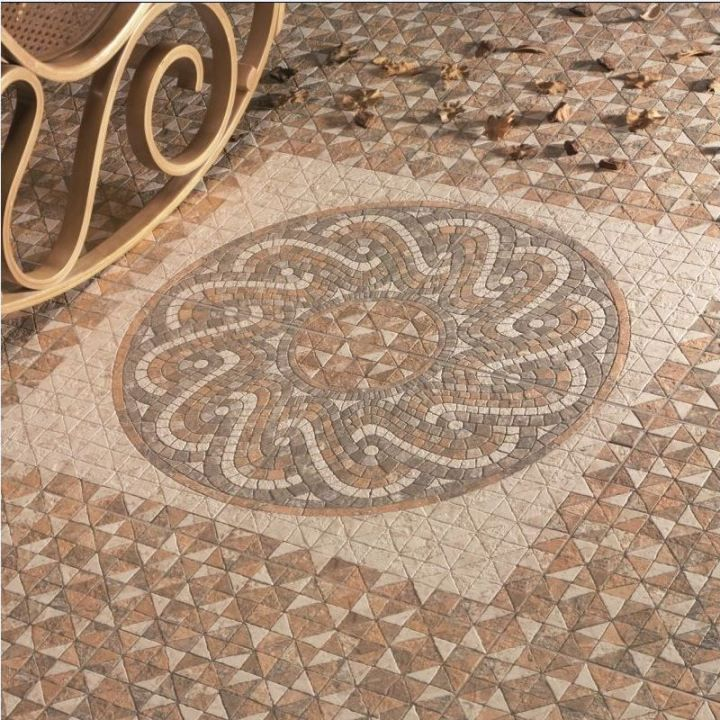 Agadir Moroccan Tiles Are Authentic Looking Decorative Floor Tiles  Available In 2 Colour Options. If