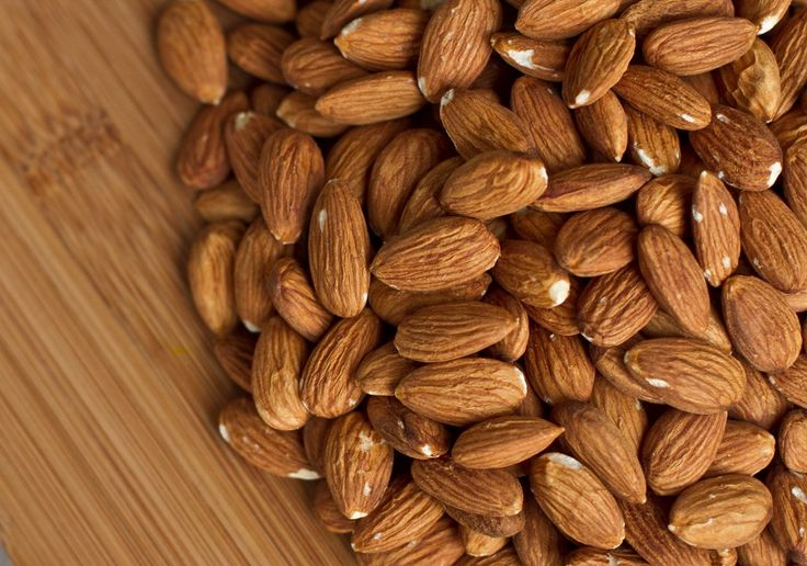 WE KNOW YOU LOVE YOUR HEALTH... Some almonds in our CHOCO WORLD.