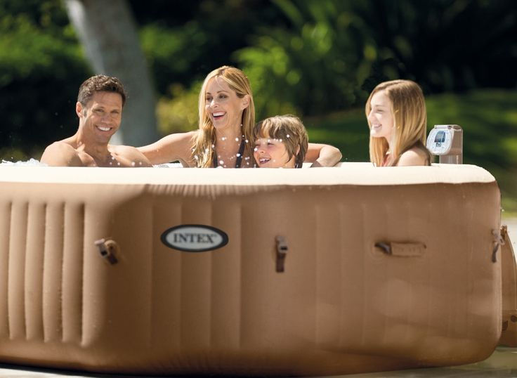 Spa gonflable INTEX octogonal - Bulles + 2 cartouches OFFERTES - Spa gonflable Intex INTEX
