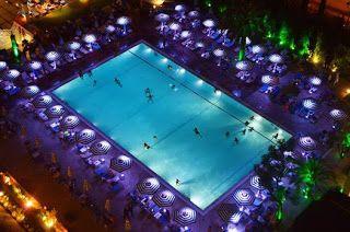 culturelovers: Νυχτερινές βουτιές δροσιάς στο Hilton Αθηνών