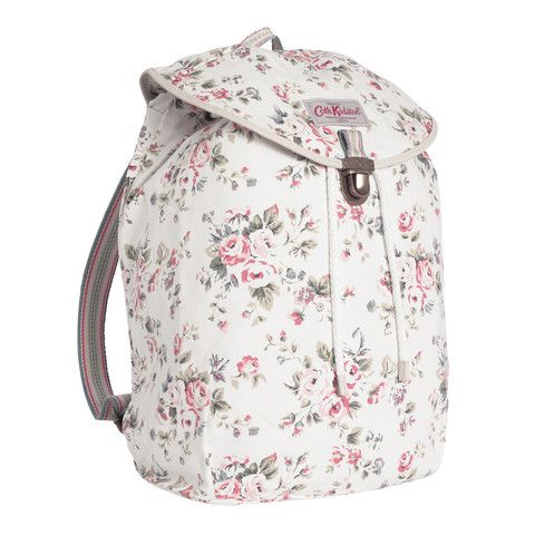 Cath Kidston Westbourne rose cotton backpack