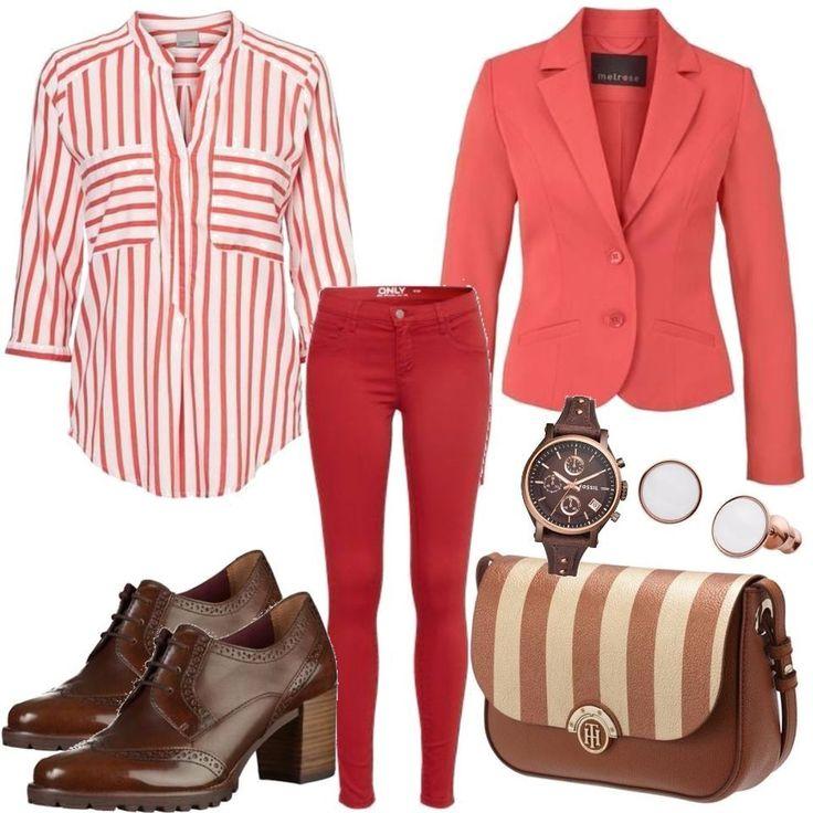 VERO MODA Pink Business Lady Outfit Outfit für Damen zum Nachshoppen auf Stylaholic