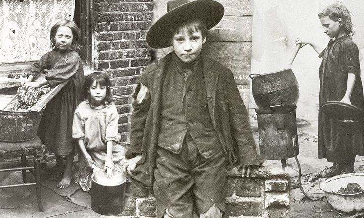 Britain S Slumdogs The Ragged And Filthy East End