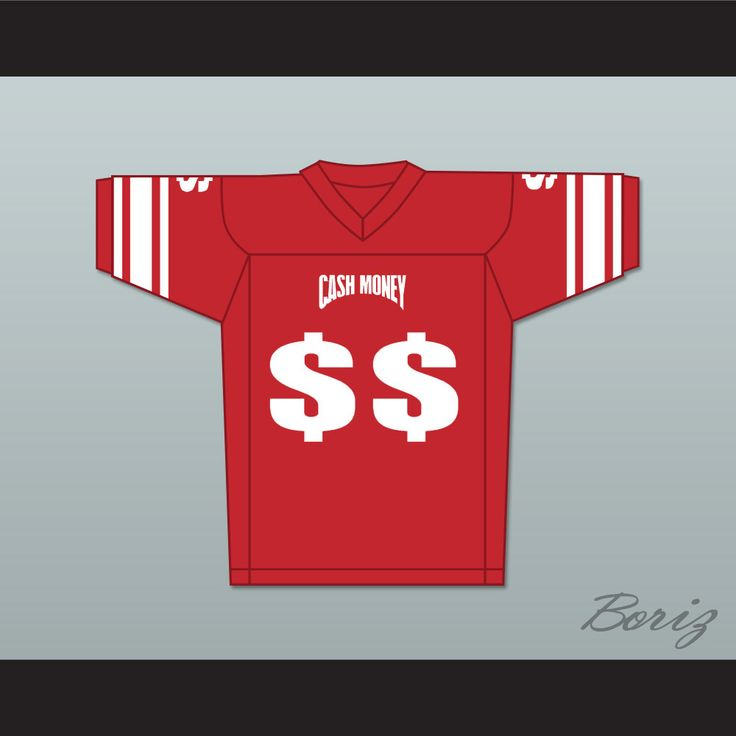 Cash Money Records Soulja Boy Football Jersey. STITCH SEWN GRAPHICS  CUSTOM BACK NAME CUSTOM BACK NUMBER ALL SIZES AVAILABLE SHIPPING TIME 3-5 WEEKS WITH ONLINE TRACKING NUMBER Be sure to compare your measurements with a jersey that already fits you. Please consider ordering a larger size, if you plan to wear protective sports equipment under the jersey. HOW TO CALCULATE CHEST SIZE: Width of your Chest plus Width of your Back plus 4 to 6 inches to account for space for a loose fit…
