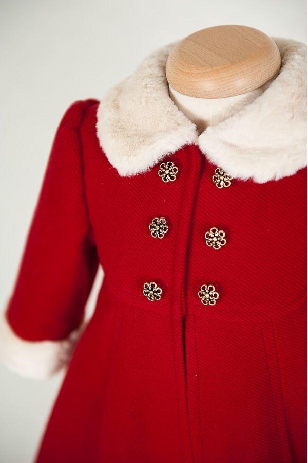 """Natalie"" Baby Girl Coat"