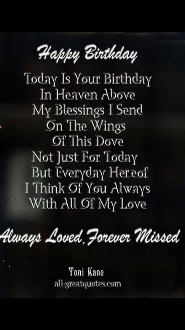 The 25 Best Happy Birthday Sister In Heaven Ideas On Pinterest Happy Birthday Wishes In Heaven