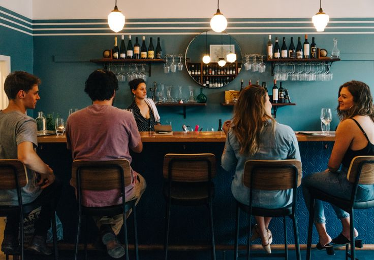 Pull up a chair at this cosy yet sleek new Richmond wine bar and bottle shop.