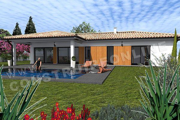 <p><strong>Maison moderne à étage de type 4</strong><br />3 chambres - garage - terrasse<br />Surface Habitable: 113m² / Surface annexe: 62m²<br /></p>
