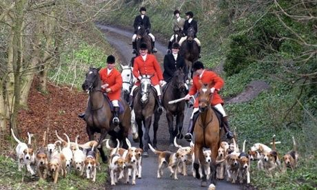 Labour's demand for blood sports to be banned has spurred advocates of foxhunting into action