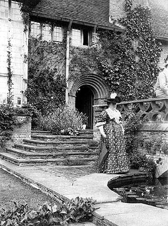 Garden Designer, Gertrude Jekyll, was a member of the Arts and Crafts movement and created over 400 gardens around the world. Her style is still emulated.