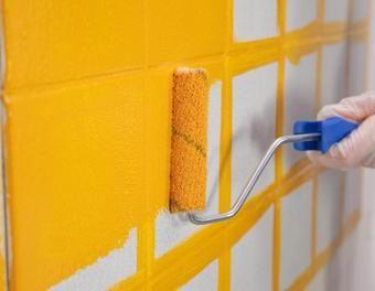 les 25 meilleures idées de la catégorie peindre salle de bain sur ... - Peindre Des Carreaux De Faience Salle De Bain