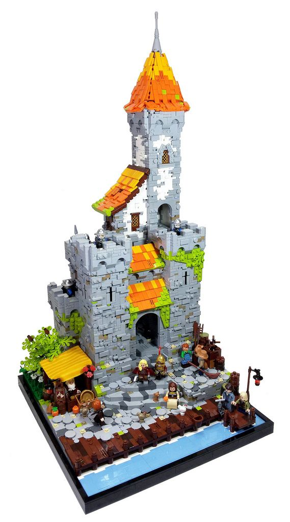 This castle stands out from the bunch
