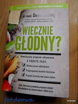 """Moje Małe Czarowanie: """"Wiecznie głodny?"""" dr med. David Ludwig - recenzja..."""
