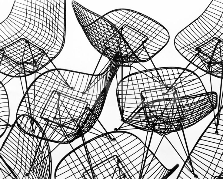 Kollectium - Wire Chair of Charles and Ray Eames