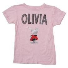 Olivia Book Art T-shirt - for children