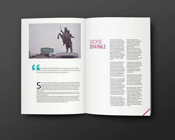 Balkan Beats 7th Edition on Editorial Design Served
