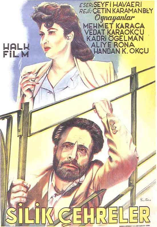 Türk Nostalji - Fotogaleri - Silik Çehreler (1948) filminin afişi