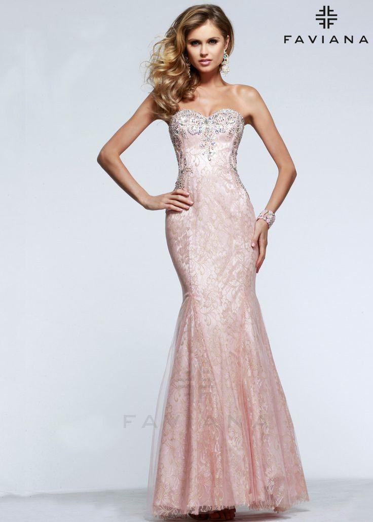 Pink Faviana Prom Dress