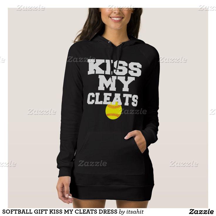 SOFTBALL GIFT KISS MY CLEATS DRESS