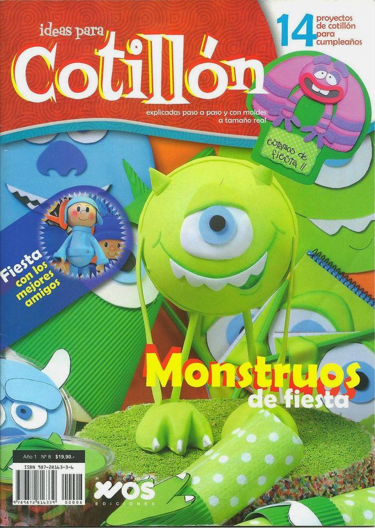 http://tuimaginaycrea.blogspot.mx/2014/04/ideas-para-cotillon.html Revistas de manualidades