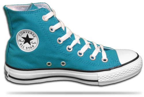 teal converse: Favorite Shoes, 8Th Grade, Heart Converse, Bulbasaur Cosplay, Cosplay Ideas, Teal Converse, Fanciful Footwear, Darcy Shoe