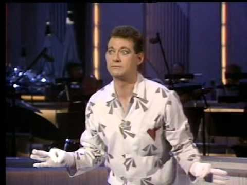 "Roy 'Spook!"" Jay on the Bob Monkhouse Show 1983"
