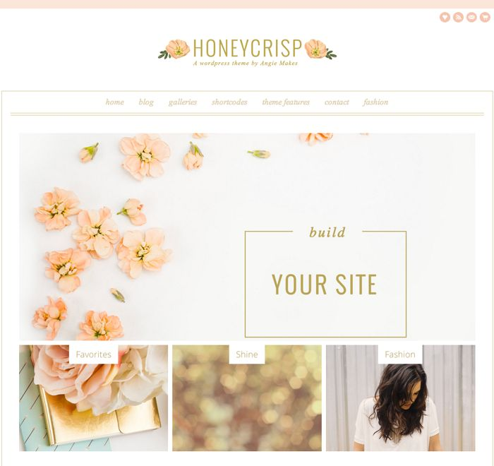 48 best images about ♥ Pretty Wordpress Themes / Feminine ...
