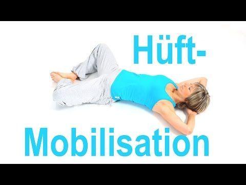 Hüft – Mobilisation ohne Geräte – YouTube – Andrea Fritzsche