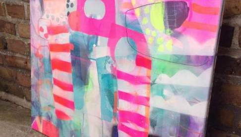 nye malerier med pangfarver