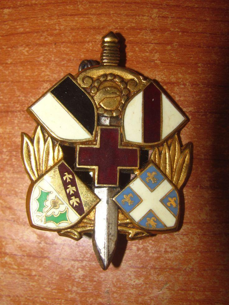 sixième section d'infirmiers militaires Insignes