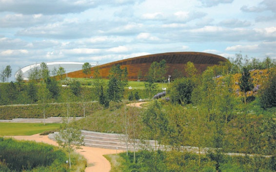 London's Olympic Park is an eco-friendly triumph. But did it have to erase its industrial past so completely?