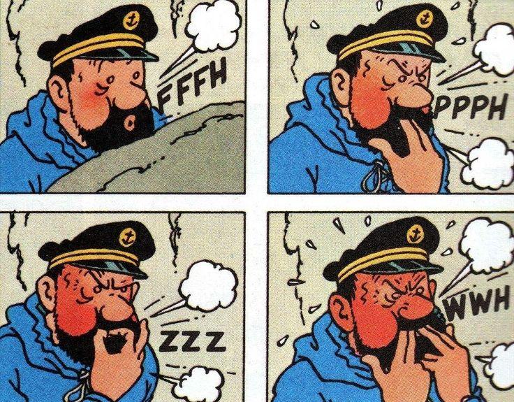 Captain Haddock / Tintin in Tibet