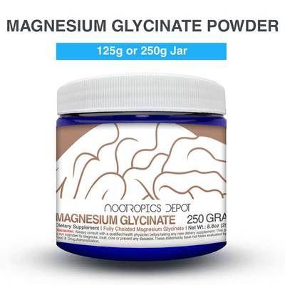 Buy Magnesium Glycinate Powder Nootropics Depot Is The 1 Source