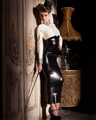 Hobblerock Hobble Skirt Aus Geklebtem Latex Bis 4xl