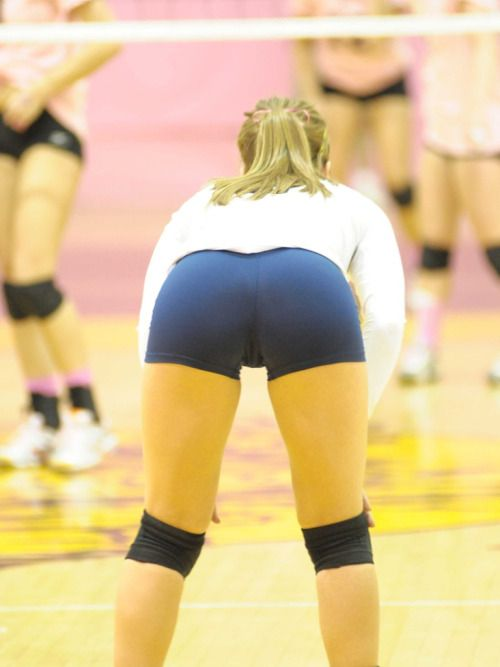 Beautiful Volleyball Girls Pictures Hot Volleyball Girls In Spandex Shorts