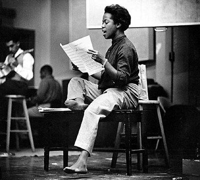 """There are notes between notes, you know."" -- Sarah Vaughan"