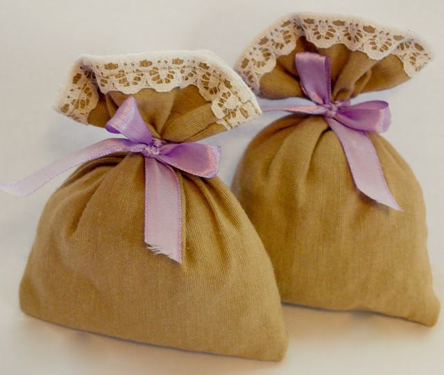 Kroofciowo - koralikowo: Lawendowe woreczki prosto do szafy