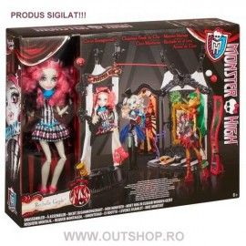 05.06.17 Jucarie fetite set circus scaregrounds Monster High Rochelle Goyle Mattel