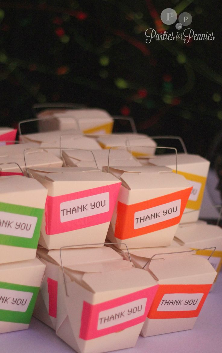 Party Favor Chinese Take Out Boxes : S party favor boxes chinese take out box