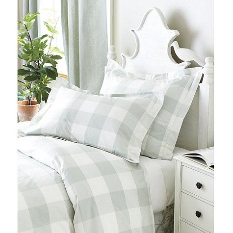 Gwyneth Buffalo Check Duvet Cover Classic Design And Toile