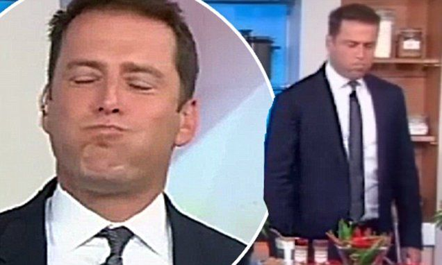 Karl Stefanovic's on fire as he tries world's hottest chilli ice-cream