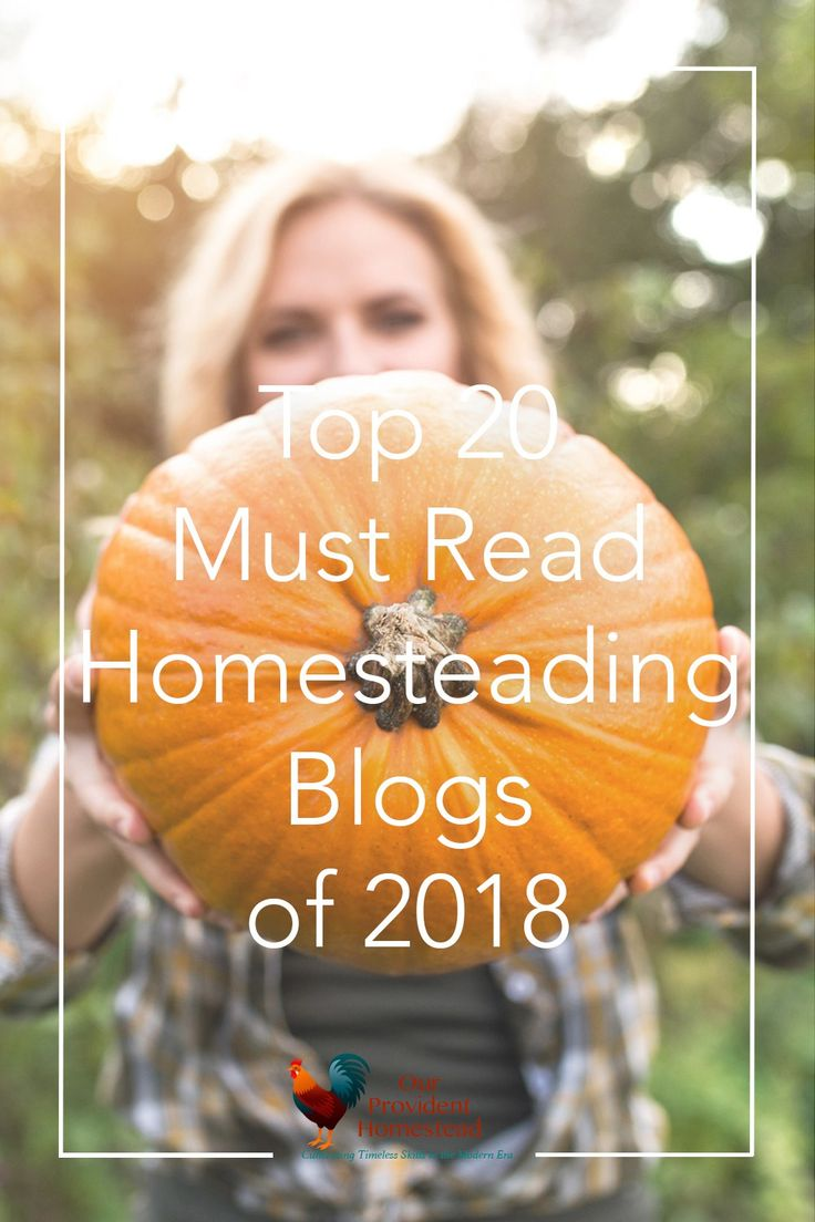 Do you love to follow homesteading blogs? Click here to see a great list of must read homesteading blogs of 2018 for your homesteading inspiration.